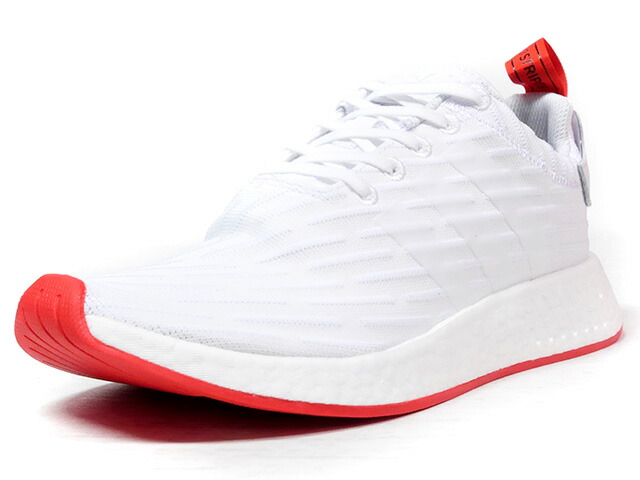 "adidas NMD R2 ""LIMITED EDITION""  WHT/RED (BA7253)"