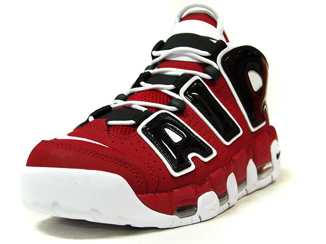 """NIKE AIR MORE UPTEMPO '96 """"BULLS"""" """"LIMITED EDITION for NONFUTURE""""  RED/BLK/WHT (921948-600)"""
