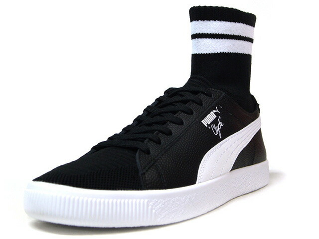 "Puma CLYDE SOCK NYC ""WALT FRAZIER"" ""NYC PACK"" ""KA LIMITED EDITION""  BLK/WHT (364948-01)"