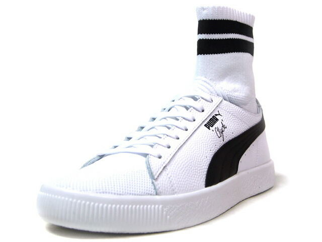 "Puma CLYDE SOCK NYC ""WALT FRAZIER"" ""NYC PACK"" ""KA LIMITED EDITION""  WHT/BLK (364948-02)"