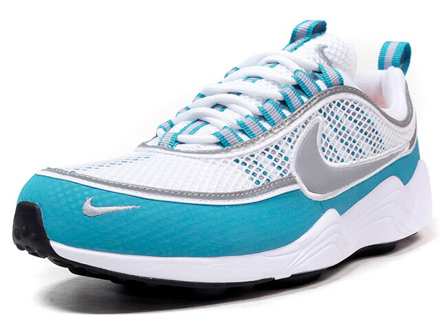 "NIKE AIR ZOOM SPIRIDON ""LIMITED EDITION for NONFUTURE""  WHT/GRY/SLB/M.GRN (849776-102)"