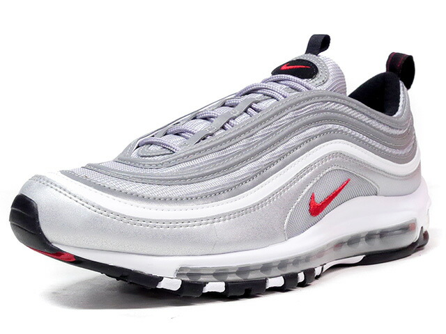 "NIKE AIR MAX 97 OG QS ""SILVER BULLET"" ""LIMITED EDITION for NONFUTURE""  SLV/RED (884421-001)"