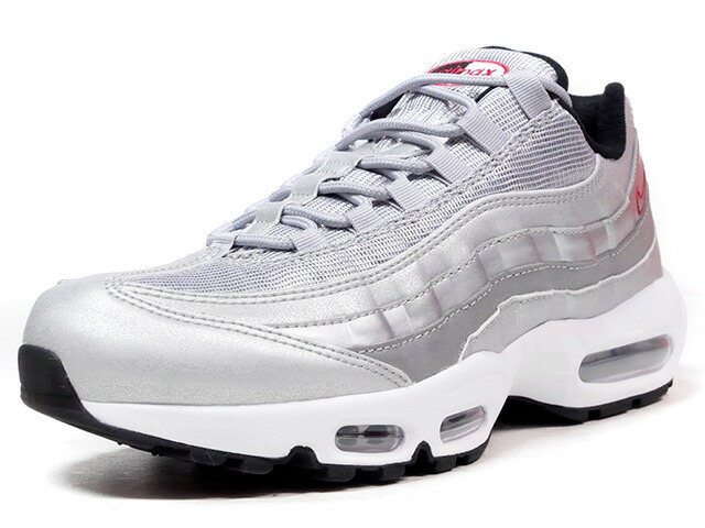 "NIKE AIR MAX 95 PRM QS ""SILVER BULLET"" ""LIMITED EDITION for NONFUTURE""  SLV/RED (918359-001)"