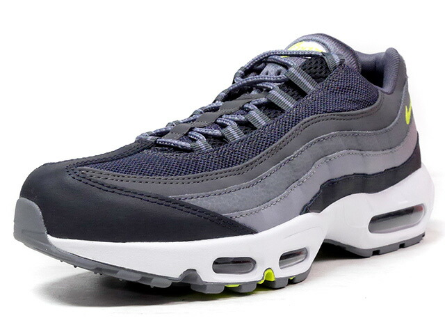 "NIKE AIR MAX 95 ESSENTIAL ""LIMITED EDITION for ICONS""  C.GRY/GRY/YEL/WHT (749766-019)"