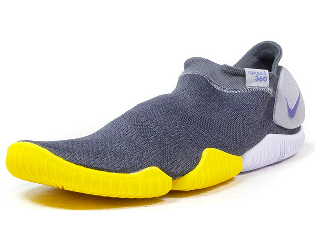 "NIKE AQUA SOCK 360 ""LIMITED EDITION for NSW BEST""  C.GRY/GRY/NVY/YEL/WHT (885105-002)"