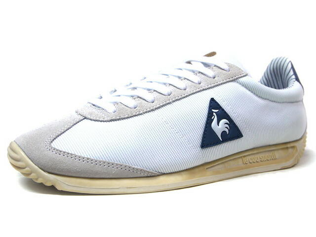 "le coq sportif QUARTZ COURT LEGACY ""LIMITED EDITION for BETTER +""  WHT/L.GRY/NVY/NAT (1710159)"