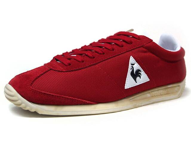 "le coq sportif QUARTZ VINTAGE AEROTOP ""LIMITED EDITION for BETTER +""  RED/WHT/BLK/NAT (1710025)"
