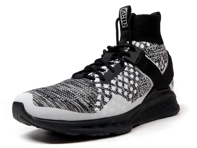 "Puma IGNITE EVO KNIT ""NTRVL COLLECTION"" ""STAPLE DESIGN"" ""LIMITED EDITION for LIFESTYLE""  BLK/GRY/WHT (364047-01)"