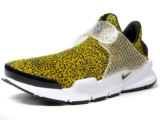 "NIKE SOCK DART QS ""SAFARI PACK"" ""LIMITED EDITION for NONFUTURE""  YEL/SAFARI/WHT (942198-700)"