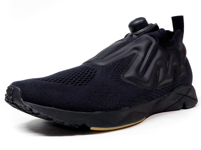 "Reebok PUMP SUPREME ENGINE ""B&W"" ""LIMITED EDITION""  BLK/GUM (BS8807)"