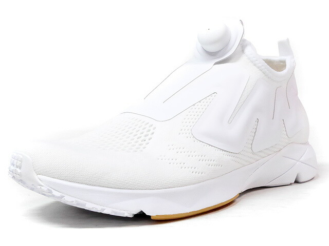 "Reebok PUMP SUPREME ENGINE ""B&W"" ""LIMITED EDITION""  WHT/GUM (BS8808)"