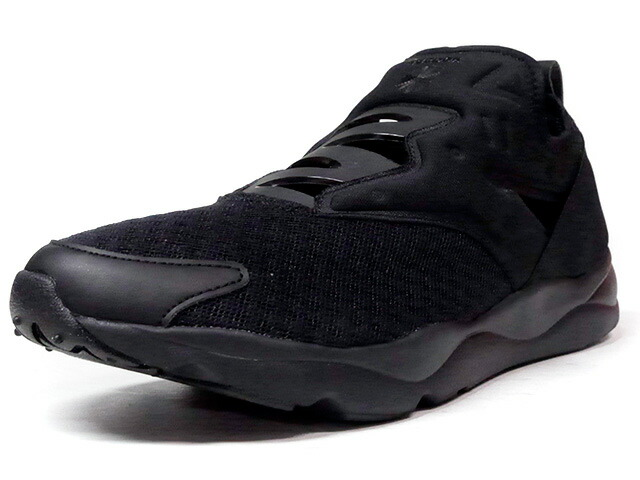 "Reebok FURYLITE SLIP-ON EMB ""LIMITED EDITION""  BLK/BLK (BD1724)"