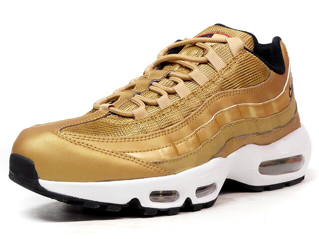 "NIKE AIR MAX 95 PRM QS ""METALLIC GOLD"" ""LIMITED EDITION for NONFUTURE""  GLD/RED (918359-700)"