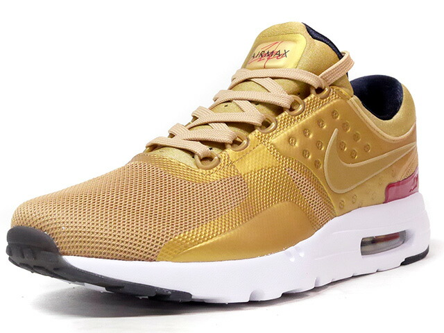 "NIKE AIR MAX ZERO QS ""METALLIC GOLD"" ""LIMITED EDITION for NONFUTURE""  GLD/RED (789695-700)"