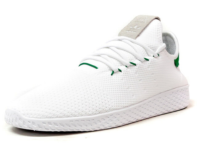 "adidas PW TENNIS HU ""PHARRELL WILLIAMS"" ""HU COLLECTION"" ""LIMITED EDITION""  WHT/GRN/GRY (BA7828)"