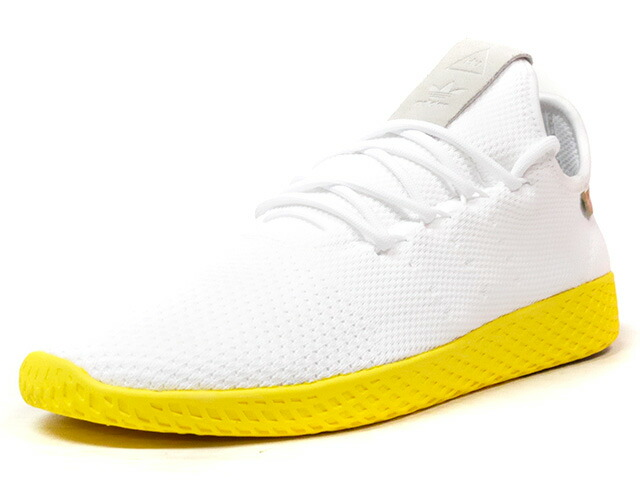 "adidas PW TENNIS HU ""PHARRELL WILLIAMS"" ""HU COLLECTION"" ""LIMITED EDITION""  WHT/GLD/GRY/YEL (BY2674)"