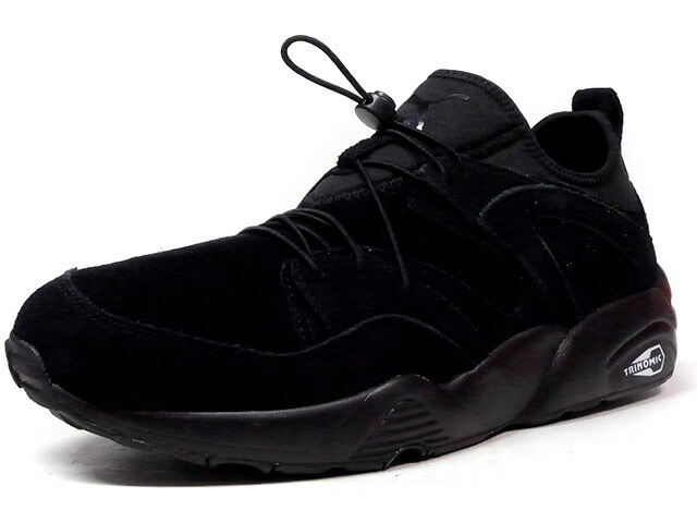 "Puma BLAZE OF GLORY SOFT ""LIMITED EDITION for LIFESTYLE""  BLK/BLK (360101-06)"
