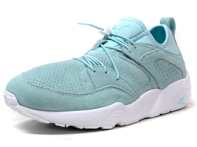 "Puma BLAZE OF GLORY SOFT ""LIMITED EDITION for LIFESTYLE""  E.GRN/WHT (360101-11)"