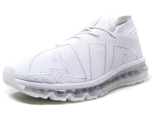 "NIKE AIR MAX FLAIR ""TRIPLE WHITE"" ""LIMITED EDITION for NONFUTURE""  WHT/WHT (942236-100)"
