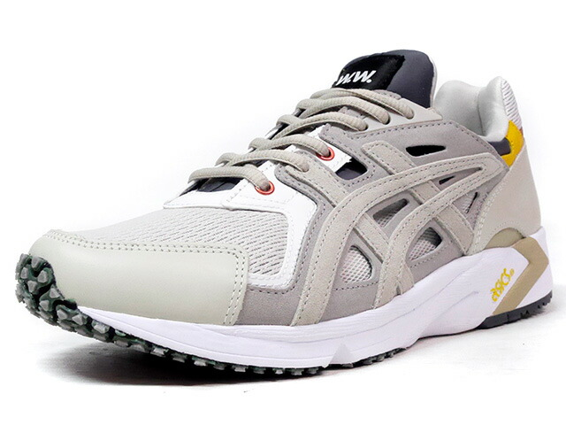 "ASICS Tiger GEL-DS TRAINER OG ""ツーオブツー"" ""WOOD WOOD""  L.GRY/C.GRY/YEL/BRN (H7EVK-1512)"