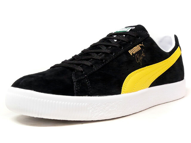 "Puma CLYDE PREMIUM CORE ""LIMITED EDITION for LIFESTYLE""  BLK/YEL (362632-04)"
