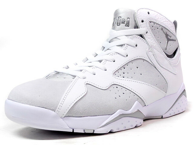 "NIKE AIR JORDAN VII RETRO ""PURE MONEY"" ""MICHAEL JORDAN"" ""LIMITED EDITION for JORDAN BRAND""  WHT/L.GRY/SLV (304775-120)"