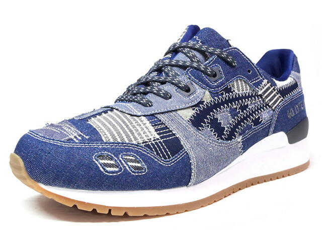 "ASICS Tiger GEL-LYTE III ""RANRU PACK"" ""LIMITED EDITION for L1""  NVY/BLU/DENIM/GUM (HN7T0-4958)"