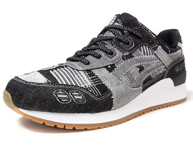 "ASICS Tiger GEL-LYTE III ""RANRU PACK"" ""LIMITED EDITION for L1""  BLK/GRY/DENIM/GUM (HN7T0-5896)"