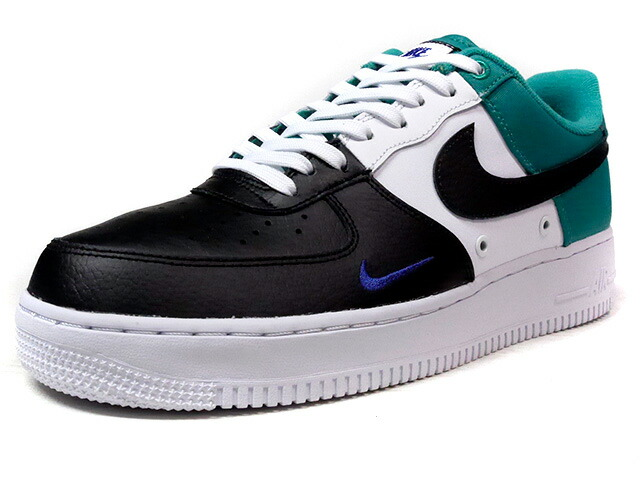 "NIKE AIR FORCE I 07 LV8 ""LIMITED EDITION for ICONS""  BLK/WHT/E.GRN (823511-002)"