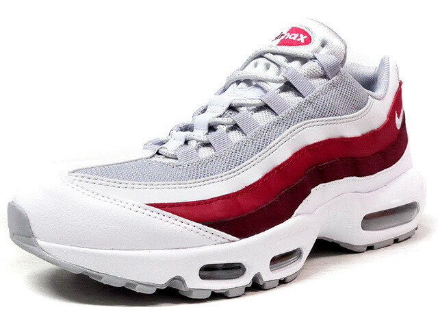 "NIKE AIR MAX 95 ESSENTIAL ""LIMITED EDITION for ICONS""  WHT/GRY/RED (749766-103)"