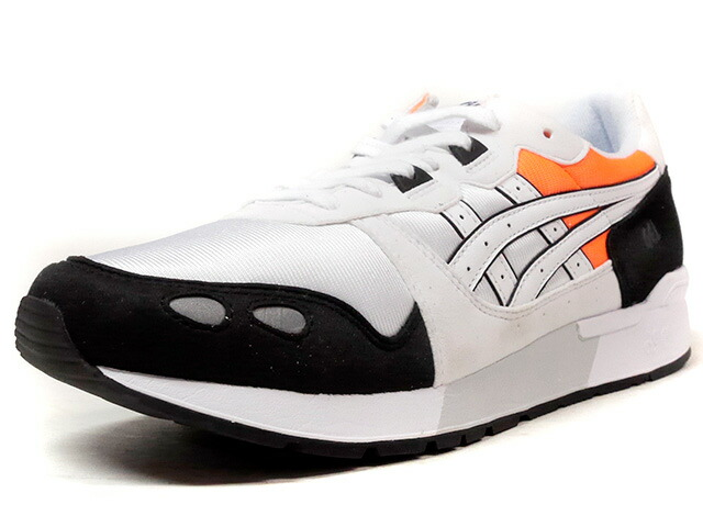 "ASICS Tiger GEL-LYTE ""LIMITED EDITION for L1""  WHT/BLK/ORG (H7W4Y-0101)"