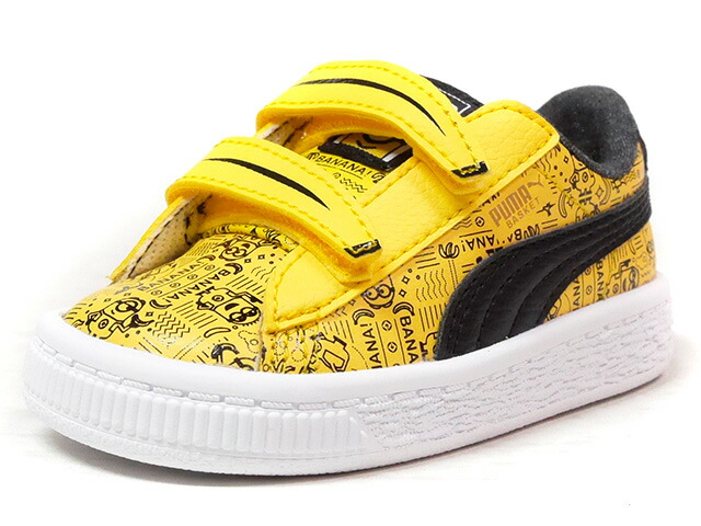 "Puma MINIONS BASKET V INFANT ""MINIONS"" ""LIMITED EDITION for LIFESTYLE""  YEL/BLK/WHT (364013-02)"
