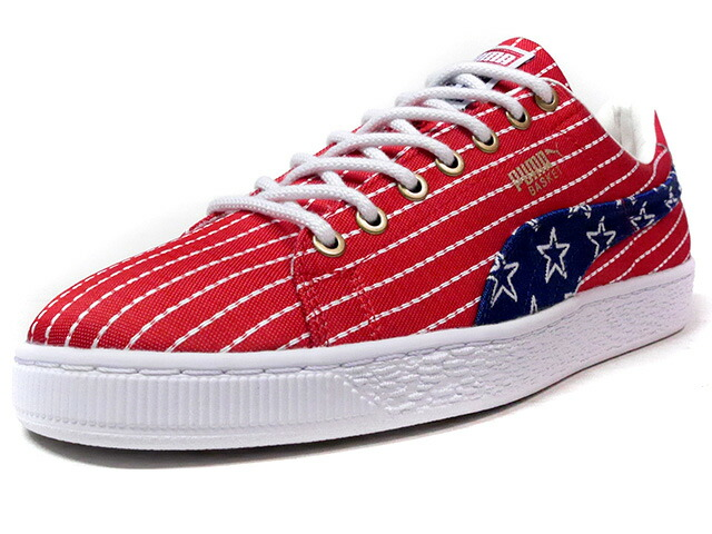"Puma BASKET CLASSIC 4TH OF JULY FM ""INDEPENDENCE DAY"" ""4TH OF JULY PACK"" ""KA LIMITED EDITION""  NVY/RED/WHT (364778-01)"