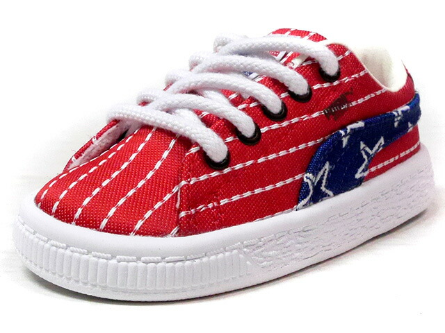 "Puma BASKET CLASSIC 4TH OF JULY FM INFANT ""INDEPENDENCE DAY"" ""4TH OF JULY PACK"" ""KA LIMITED EDITION""  NVY/RED/WHT (364963-01)"