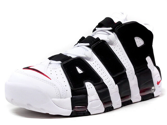 "NIKE AIR MORE UPTEMPO ""LIMITED EDITION for NONFUTURE""  WHT/BLK/RED (414962-105)"