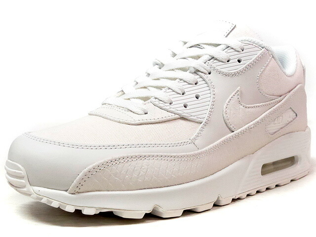 "NIKE AIR MAX 90 PREMIUM ""WHITE SNAKESKIN"" ""LIMITED EDITION for ICONS""  WHT/WHT (700155-101)"