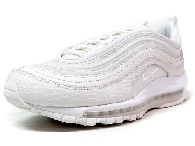 "NIKE AIR MAX 97 ""WHITE SNAKESKIN"" ""LIMITED EDITION for ICONS""  WHT/WHT (921826-100)"