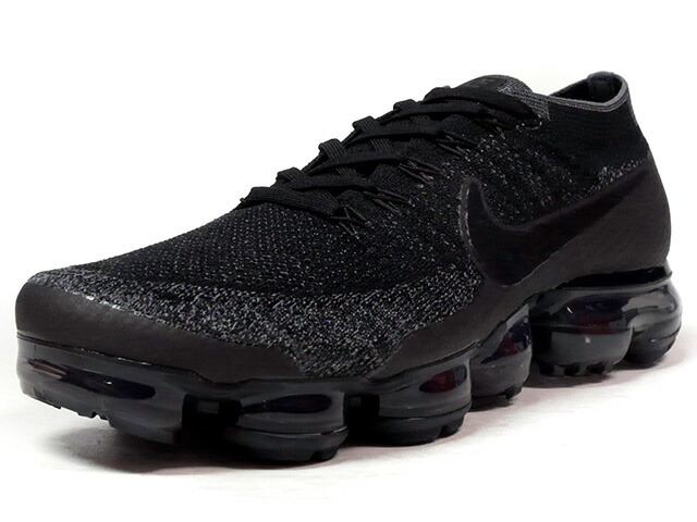 "NIKE AIR VAPORMAX FLYKNIT ""TRIPLE BLACK"" ""LIMITED EDITION for RUNNING FLYKNIT""  BLK/BLK/CLEAR (849558-007)"