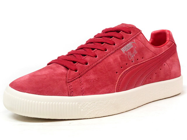 "Puma CLYDE NORMCORE ""LIMITED EDITION for LIFESTYLE""  RED/NAT (363836-02)"