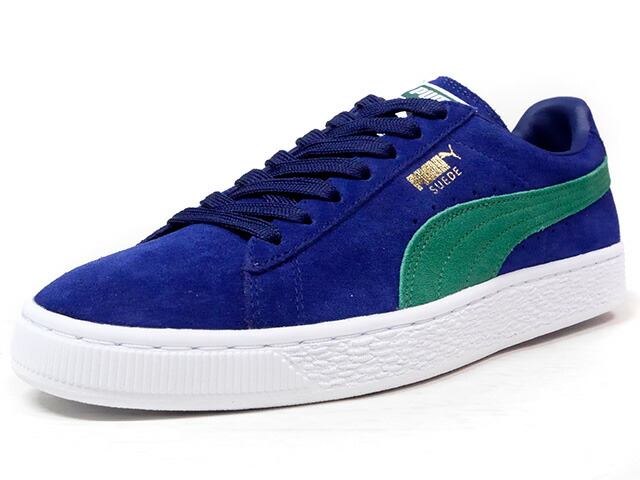 "Puma SUEDE CLASSIC + ""LIMITED EDITION for LIFESTYLE""  NVY/GRN/WHT (363242-22)"