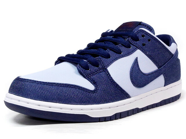 "NIKE ZOOM DUNK LOW PRO ""BINARY BLUE"" ""LIMITED EDITION for NIKE SB""  NVY/SAX/BGD/WHT (854866-444)"