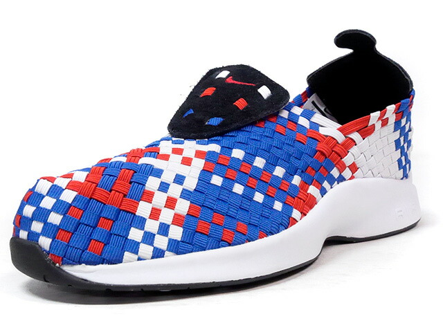 "NIKE AIR WOVEN ""LIMITED EDITION for NSW BEST""  BLU/RED/WHT/BLK (312422-005)"