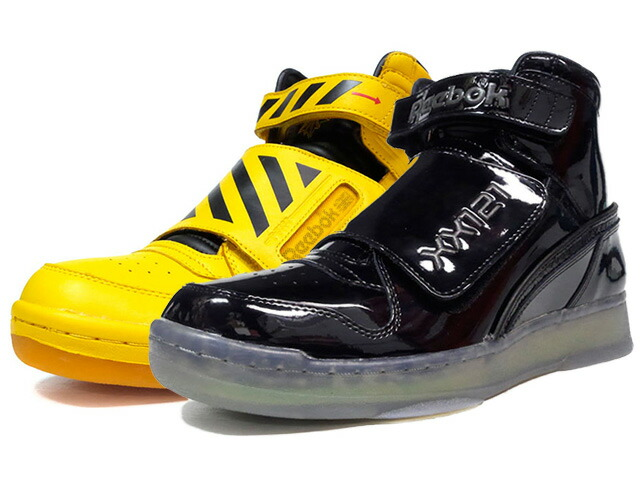 "Reebok ALIEN STOMPER MID PL ""FINAL BATTLE PACK"" ""ALIEN2"" ""LIMITED EDITION""  YEL/BLK/RED/BLK/GRN/CLR (BS8882)"
