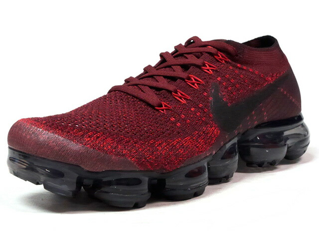 "NIKE AIR VAPORMAX FLYKNIT ""DARK TEAM RED"" ""LIMITED EDITION for RUNNING FLYKNIT""  BGD/BLK/CLEAR (849558-601)"