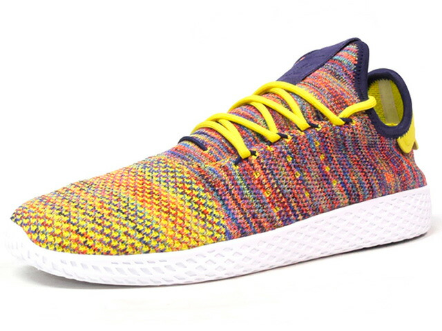 "adidas PW TENNIS HU ""PHARRELL WILLIAMS"" ""HU COLLECTION"" ""LIMITED EDITION""  MULTI/WHT (BY2673)"