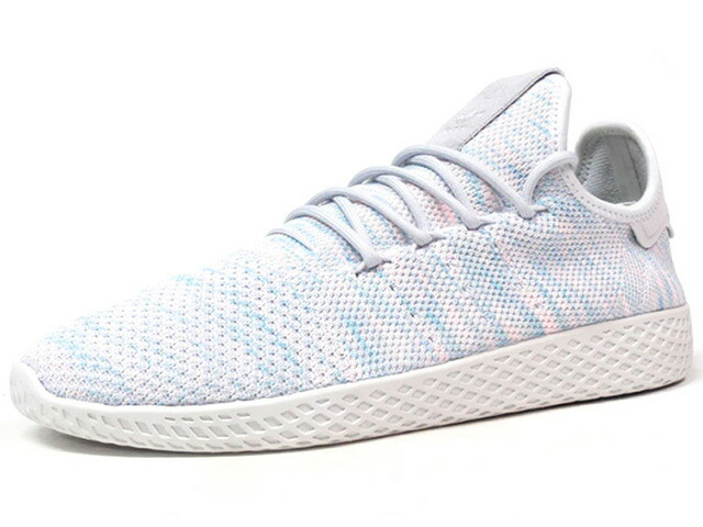 "adidas PW TENNIS HU ""PHARRELL WILLIAMS"" ""HU COLLECTION"" ""LIMITED EDITION""  GRY/SAX/PNK (BY2671)"