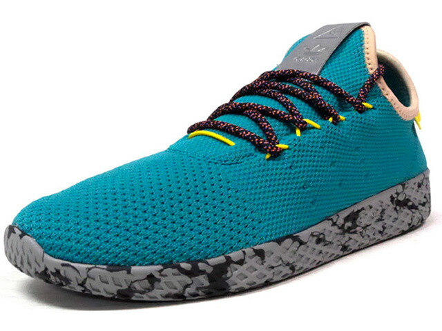 "adidas PW TENNIS HU ""PHARRELL WILLIAMS"" ""HU COLLECTION"" ""LIMITED EDITION""  GRN/BGE/YEL/GRY (CQ1872)"