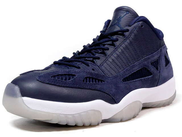 "NIKE AIR JORDAN 11 RETRO LOW ""OBSIDIAN"" ""MICHAEL JORDAN"" ""LIMITED EDITION for JORDAN BRAND""  NVY/WHT (919712-400)"