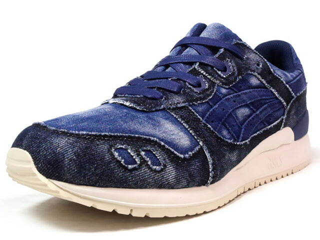 "ASICS Tiger GEL-LYTE III ""JAPANESE DENIM PACK"" ""LIMITED EDITION""  NVY/DENIM/O.WHT (TQ7D3N-4949)"
