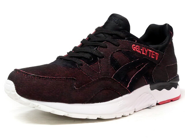 "ASICS Tiger GEL-LYTE V ""JAPANESE DENIM PACK"" ""LIMITED EDITION""  BLK/RED/DENIM/WHT (HN7J4-9090)"